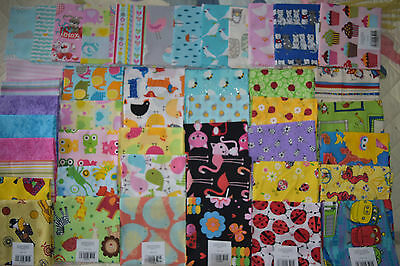 F/Q  patchwork & quilting fabric kids I-spy HUGE VARIETY SALE