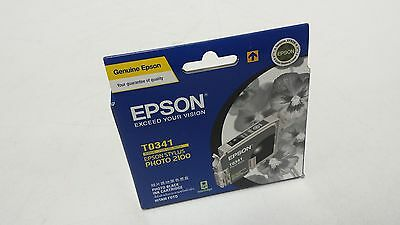 Epson T0341 Photo Black Ink Cartringe
