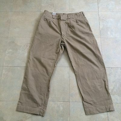 40's French Military Pants WWII 35x28