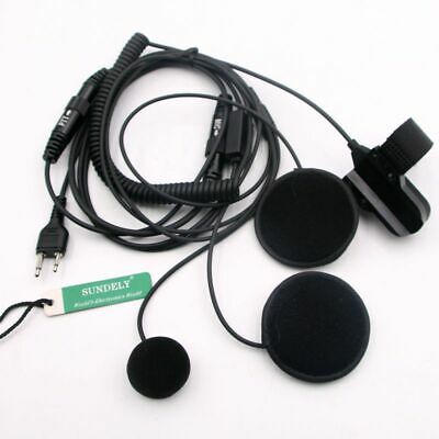 Full Face Close Helmet Headset/Earpiece Mic for GME Radios TX630/TX670