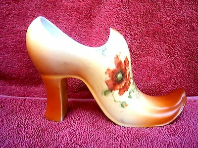 LADIES  CERAMIC  HIGH  SHOE    14cm.
