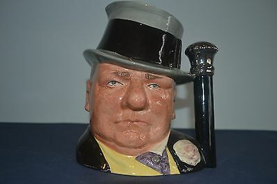 Royal Doulton Large Character Jug WC Fields D6674