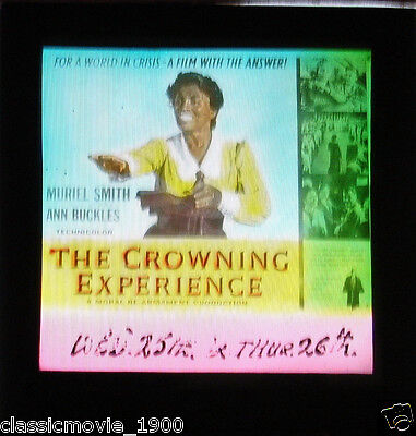 The Crowning Experience Original Glass Slide