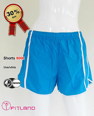 Women's Shorts from Brazil, Activewear, blue, Fitland, new, 8, 10, 12, S, M, L