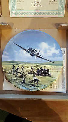 "** Reduced **  Heroes of the Sky ""Hurricane Victory Pass Royal Doulton"