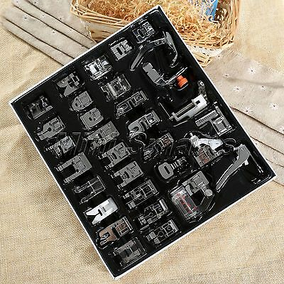 32pc Household Multi-functional Sewing Machine Presser Foot Feet For SINGER JUKI