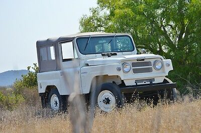 1965 Nissan Other Convertible 1965 Nissan Patrol - Ready to Enjoy, Rust Free, Rare Truck!