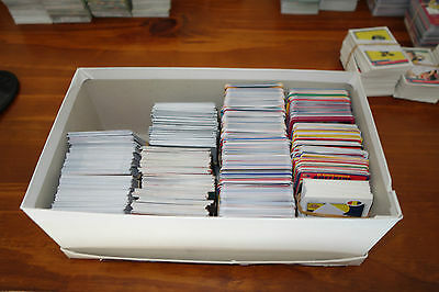 Large bulk lot of 1000+ football cards - various Select,Team Coach,Herald years