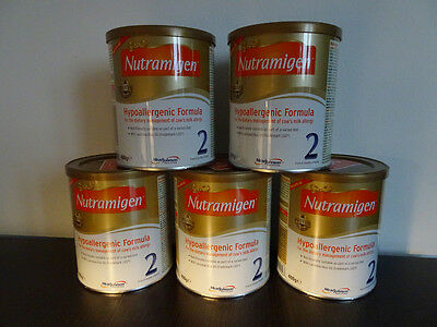 Nutramigen 2 Hypoallergenic Formula with LGG - 5 Cans. Exp 20/02/2018.