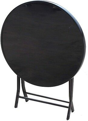 Folding Round Table 70 Cm Durable Sturdy Indoor Outdoor Garden Patio Furniture