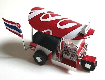 New Tuk Tuk 3 Lor  Handmade From Canned Collectible Souvenir Gift Free Shipping