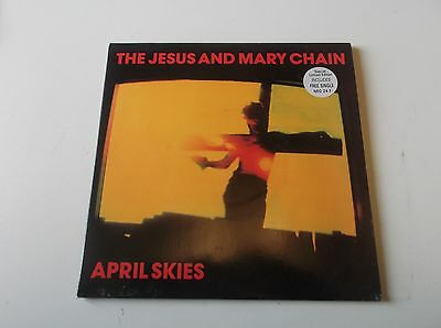 """The Jesus And Mary Chain April Skies 7"""" Special Ltd Ed Double Pack"""
