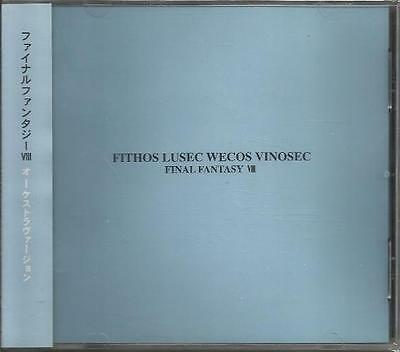 MICA-0277 Final Fantasy VIII Fithos Lusec Wecos Vinosec CD Miya Records