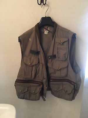 FILSON FLYFISHING GUIDE VEST - PESCA A MOSCA GILET Size L