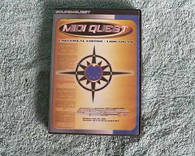 MidiQuest XL 10.0.5, Unverseller Midi Patch Editor und Manager