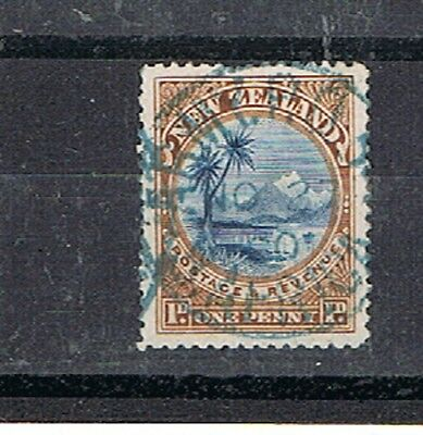 BOER WAR:  A 1d.  browwn and blue stamp cancelled army PO 1898.
