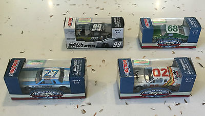 Action Racing Collectables 1:64 NASCAR models, Martin, Parsons, Guthrie, Edwards