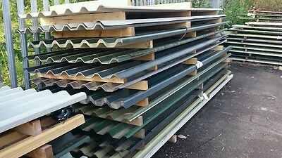 Box Profile Corrugated Roofing Sheets £1.25 Per Ft
