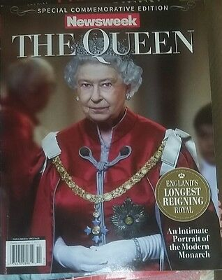 """Special Commemorative Edition NEWSWEEK """"THE QUEEN""""  BRAND NEW"""