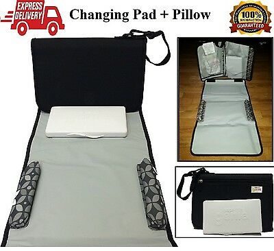 Baby Changing Pad Diaper Change Station Infant Travel Mat Table Cover Kit