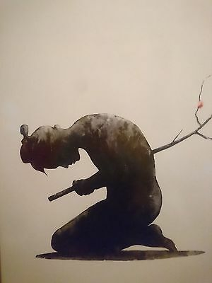 Seppuku Print by Pejac / Signed Numbered with COA