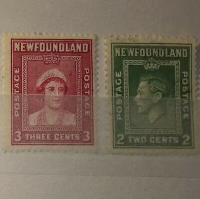 NEWFOUNDLAND MIXED SELECTED STAMPS (No 811)