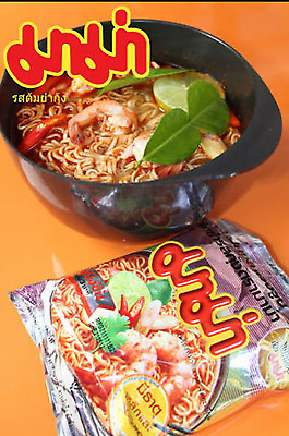MAMA Tom Yum Kung Flavour Spicy Shrimp Thai Instant Noodles Free shiping 10pcs.