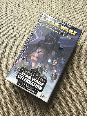 Topps 2015 Star Wars Illustrated The Empire Strikes Back [CELEBRATION EXCLUSIVE]