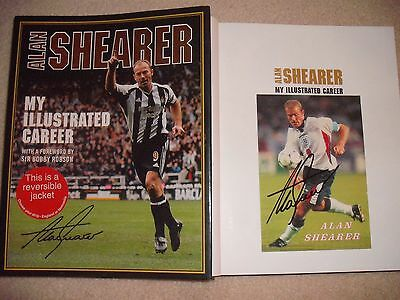 Alan Shearer Signed Book