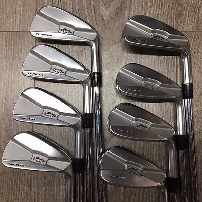 """mint"" Callaway Tour Authentic Prototype 3-Pw Irons Project X 6.0 Flighted Shaft"
