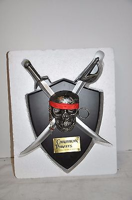 Disney Pirates Of The Caribbean Wall Hanging Skull The Curse of the Black Pearl