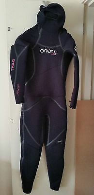 O'Neill 7mm Woman's Semi-dry diving wetsuit sz. 10