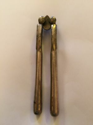 Antique Silver Plated Reversible Nut Crackers (12)
