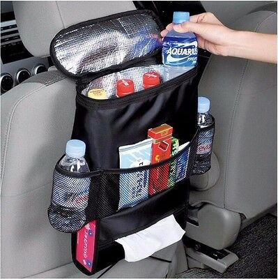 Car Hanging Storage Bag Insulated Food Storage Container Basket Stowing