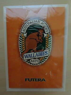 1995 / 96 FUTERA RUGBY CARDS - WALLABIES ARFU * Full Set 110 Cards * NEW MINT *