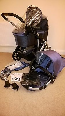 UPPAbaby Vista Cole slate Travel System Single Seat Stroller