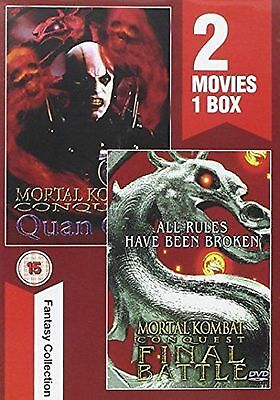 Mortal Kombat Final Battle and Quanchi DVD New and Sealed Original UK Release R2
