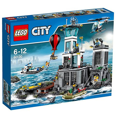 LEGO City Police Prison Island 60130 - New & Sealed - 754 Pieces - 8 Minifigures