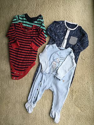 Next various baby boy romper vests baby grows 3-6 months