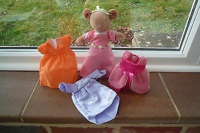 Angelina Ballerina Mouse and Outfits Lovely!