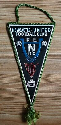 Newcastle United FC Wimpel pennant vintage
