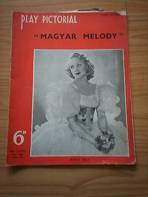 THE PLAY PICTORIAL Issue 441 - Magyar Melody Binnie Hale