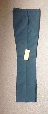 Boys M&S Grey School Trousers. Age 10-11 Years. Skinny Leg. New With Tag
