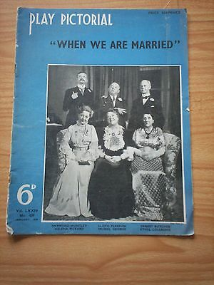 THE PLAY PICTORIAL Issue 438 - When We Are Married Raymond Huntley etc