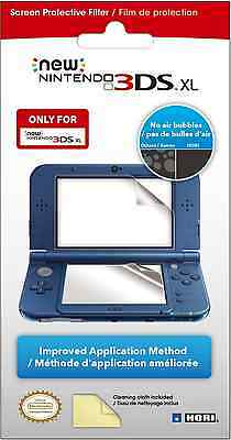 New 3DS XL Screen Protector Video Game Accessory High Quality Protective Filter