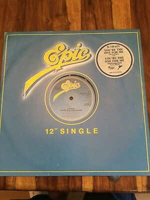 """D-TRAIN You're The One For Me 1981 UK 12"""" vinyl single EXCELLENT CONDITION"""