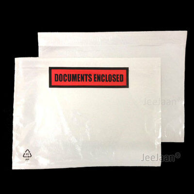50 100 500 1000 5000 A7 A6 A5 Documents Enclosed Printed Plain Wallets Envelopes