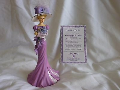 "The Hamilton Collection Figurine ""Promise in Purple"""