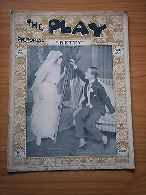 THE PLAY PICTORIAL Issue 156 Betty - Winifred Barnes, Donald Calthrop