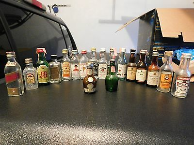 Small liquor Bottle Collection Lot